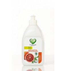Detergent Bio de vase din nuci de săpun Blood Orange cu rozmarin 510ml