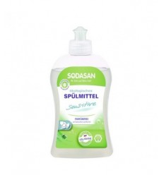 DETERGENT LICHID DE VASE SENSITIVE, ECOLOGIC, 500 ML