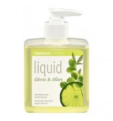 Săpun bio lichid din plante Citrice-Măsline 300ml