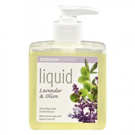 Săpun bio lichid din plante Lavandă-Măsline 300ml