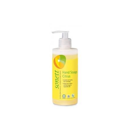 Sapun Lichid si gel de dus bio - Lemongrass 300ml Sonett