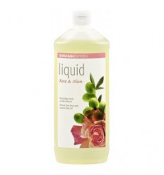 Săpun lichid si gel de dus bio din plante Trandafir-Măsline 1L