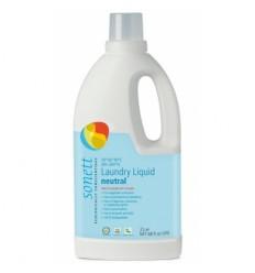 Detergent Ecologic Lichid Pentru Rufe Albe Si Colorate Neutru 2l Sonett