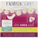 Absorbante Ultra Extra de noapte (3 picaturi) - normal, 12 buc. Natracare