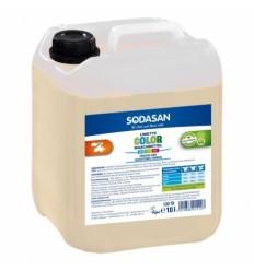 Detergent Bio Lichid Rufe Albe si Color Lime 10 L Sodasan