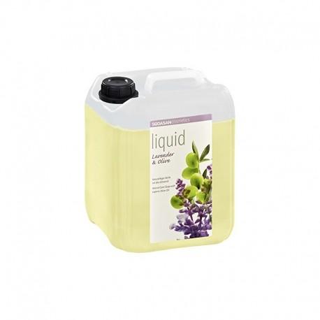 Săpun lichid si gel de dus bio din plante Lavanda-Măsline 5L