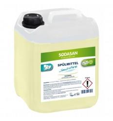 Detergent lichid bio de vase Sensitive 5l Sodasan