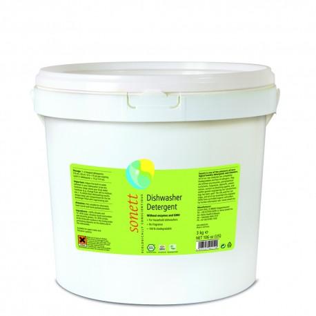 Detergent Ecologic Praf Pentru Masina De Spalat Vase 3kg Sonett