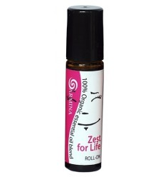 Roll-on blend din uleiuri esentiale ZEST FOR LIFE bio 10ml Armina