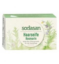 Sampon Solid pentru Par cu Rozmarin 100 gr Sodasan