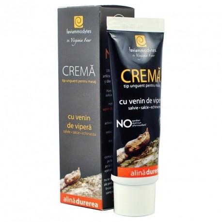 Crema Venin Vipera pentru Dureri Reumatice, Articulare, Musculare 50 ml