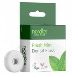 Ata dentara naturala cu menta, 50m Nordics