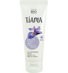 Lapte demachiant cu iris bio 75ml Tiama