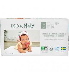 Scutece ECO Naty, Nr. 2, 3-6 kg, 36 buc